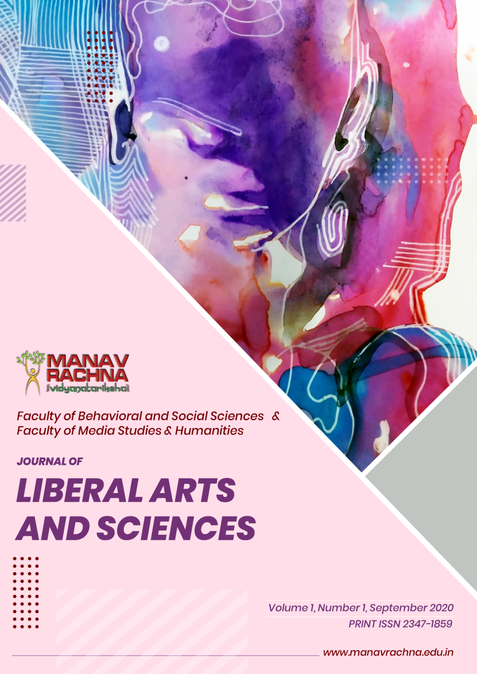 Journal of Liberal Arts and Sciences provides an intellectual, knowledge platform for trans-disciplinary research and wisdom on contemporary issues in diverse areas such as psychology, economics, political science, public administration, fine arts, music, social work, sociology, cross-cultural studies, gender studies and rights,  history, philosophy, women rights, geography, anthropology, education, legal studies, development studies and practice, international relations and ethics, applied policy research along with other disciplines.